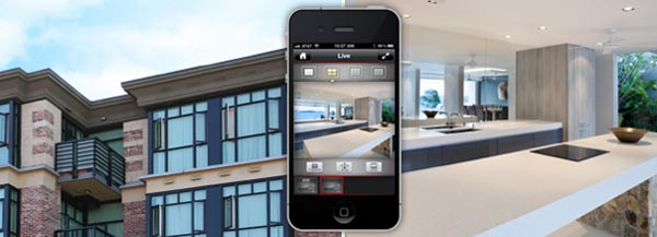 antifurto casa con telecamere di sorveglianza