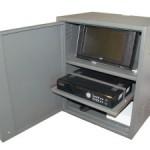 L'armadio di protezione per DVR