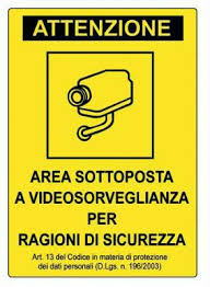 cartelli videosorveglianza da